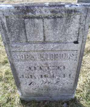 NICHOLS, JOHN - Ross County, Ohio | JOHN NICHOLS - Ohio Gravestone Photos