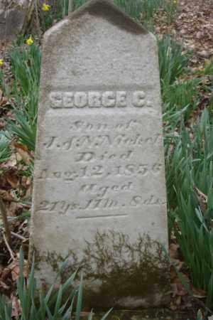 NICKEL, GEORGE C. - Ross County, Ohio | GEORGE C. NICKEL - Ohio Gravestone Photos
