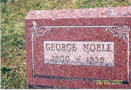 NOBLE, GEORGE - Ross County, Ohio | GEORGE NOBLE - Ohio Gravestone Photos