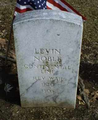 NOBLE, LEVIN - Ross County, Ohio | LEVIN NOBLE - Ohio Gravestone Photos