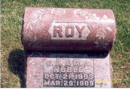 NOBLE, ROY - Ross County, Ohio | ROY NOBLE - Ohio Gravestone Photos