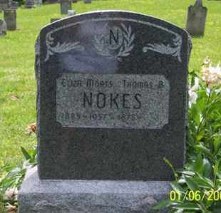 MOATS NOKES, ELIZA - Ross County, Ohio | ELIZA MOATS NOKES - Ohio Gravestone Photos