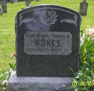 NOKES, THOMAS B. - Ross County, Ohio | THOMAS B. NOKES - Ohio Gravestone Photos