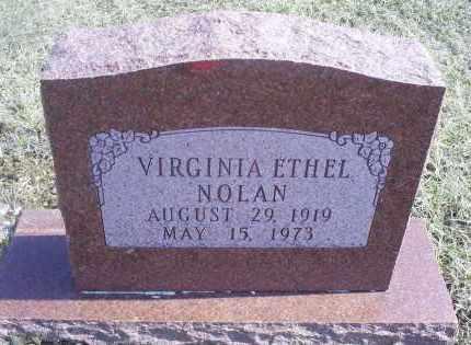 NOLAN, VIRGINIA ETHEL - Ross County, Ohio | VIRGINIA ETHEL NOLAN - Ohio Gravestone Photos