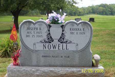 NOWELL, JOSEPH B. - Ross County, Ohio | JOSEPH B. NOWELL - Ohio Gravestone Photos