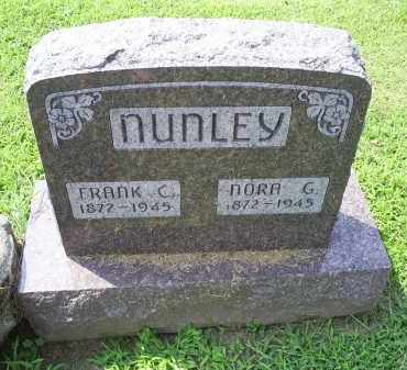 NUNLEY, NORA G. - Ross County, Ohio | NORA G. NUNLEY - Ohio Gravestone Photos