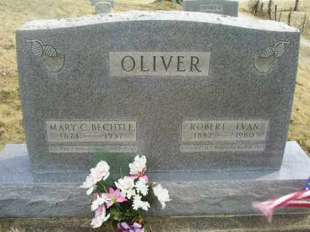 OLIVER, MARY C. - Ross County, Ohio | MARY C. OLIVER - Ohio Gravestone Photos