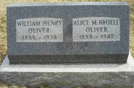 KROELL OLIVER, ALICE M. - Ross County, Ohio | ALICE M. KROELL OLIVER - Ohio Gravestone Photos