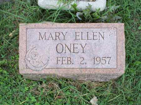 ONEY, MARY ELLEN - Ross County, Ohio | MARY ELLEN ONEY - Ohio Gravestone Photos