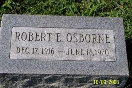 OSBORNE, ROBERT E. - Ross County, Ohio | ROBERT E. OSBORNE - Ohio Gravestone Photos