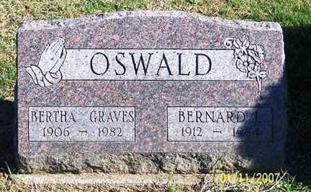 GRAVES OSWALD, BERTHA - Ross County, Ohio | BERTHA GRAVES OSWALD - Ohio Gravestone Photos