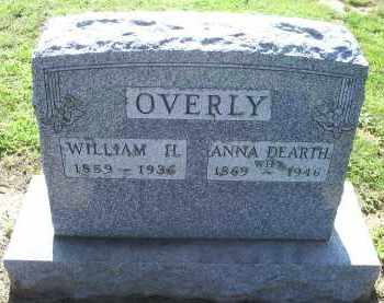 DEARTH OVERLY, ANNA - Ross County, Ohio | ANNA DEARTH OVERLY - Ohio Gravestone Photos
