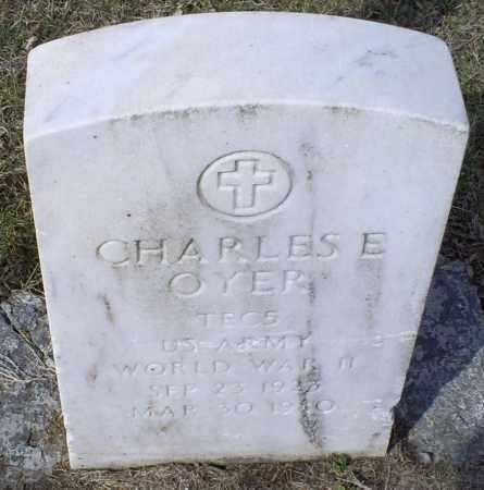 OYER, CHARLES E. - Ross County, Ohio | CHARLES E. OYER - Ohio Gravestone Photos