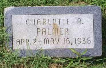 PALMER, CHARLOTTE A. - Ross County, Ohio | CHARLOTTE A. PALMER - Ohio Gravestone Photos