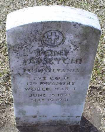 PAPSZYCHI, TONY - Ross County, Ohio | TONY PAPSZYCHI - Ohio Gravestone Photos