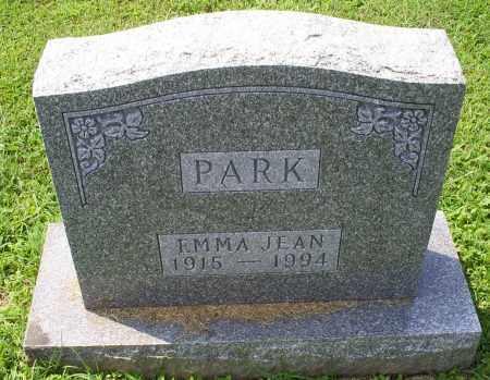 PARK, EMMA JEAN - Ross County, Ohio | EMMA JEAN PARK - Ohio Gravestone Photos