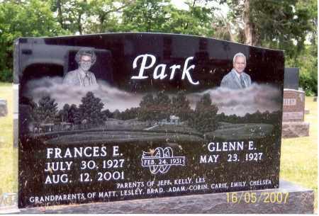 PARK, FRANCES E. - Ross County, Ohio | FRANCES E. PARK - Ohio Gravestone Photos
