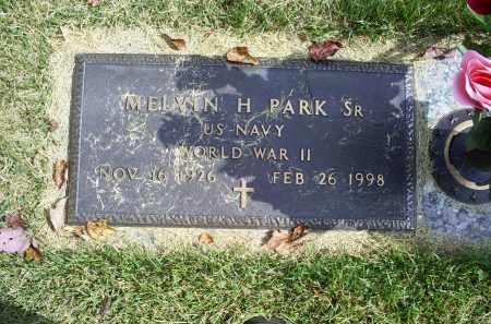 PARK, MELVIN H. SR. - Ross County, Ohio | MELVIN H. SR. PARK - Ohio Gravestone Photos