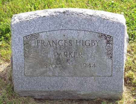 PARKER, JULIA FRANCES - Ross County, Ohio | JULIA FRANCES PARKER - Ohio Gravestone Photos