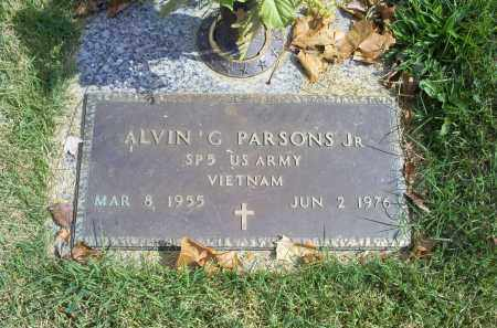 PARSONS, ALVIN G. JR. - Ross County, Ohio | ALVIN G. JR. PARSONS - Ohio Gravestone Photos