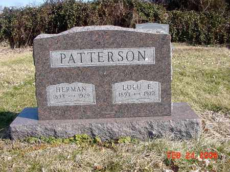 PATTERSON, HERMAN - Ross County, Ohio | HERMAN PATTERSON - Ohio Gravestone Photos