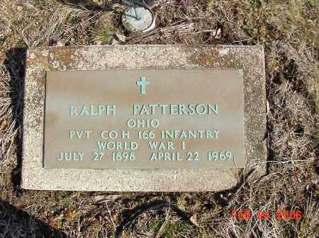 PATTERSON SR, RALPH - Ross County, Ohio | RALPH PATTERSON SR - Ohio Gravestone Photos