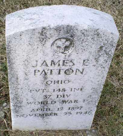 PATTON, JAMES E. - Ross County, Ohio | JAMES E. PATTON - Ohio Gravestone Photos