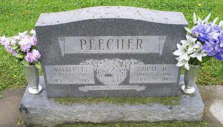 PEECHER, WALTER E. - Ross County, Ohio | WALTER E. PEECHER - Ohio Gravestone Photos