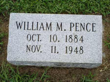 PENCE, WILLIAM M. - Ross County, Ohio | WILLIAM M. PENCE - Ohio Gravestone Photos