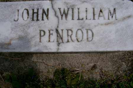PENROD, JOHN - Ross County, Ohio | JOHN PENROD - Ohio Gravestone Photos