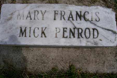 MICK PENROD, MARY - Ross County, Ohio | MARY MICK PENROD - Ohio Gravestone Photos