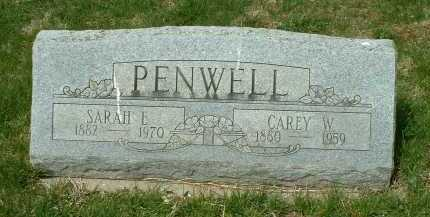 PENWELL, CAREY W. - Ross County, Ohio | CAREY W. PENWELL - Ohio Gravestone Photos