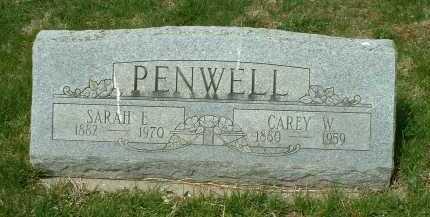 PENWELL, SARAH E. - Ross County, Ohio | SARAH E. PENWELL - Ohio Gravestone Photos