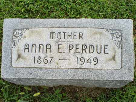 PERDUE, ANNA E. - Ross County, Ohio | ANNA E. PERDUE - Ohio Gravestone Photos