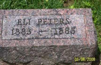 PETERS, ELI - Ross County, Ohio | ELI PETERS - Ohio Gravestone Photos