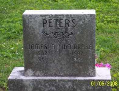 DRAKE PETERS, IDA - Ross County, Ohio | IDA DRAKE PETERS - Ohio Gravestone Photos