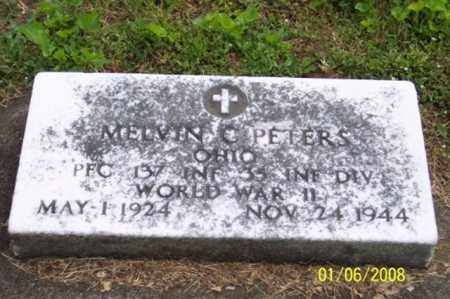 PETERS, MELVIN C. - Ross County, Ohio | MELVIN C. PETERS - Ohio Gravestone Photos