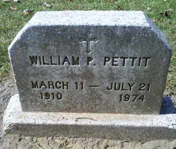 PETTIT, WILLIAM P. - Ross County, Ohio | WILLIAM P. PETTIT - Ohio Gravestone Photos