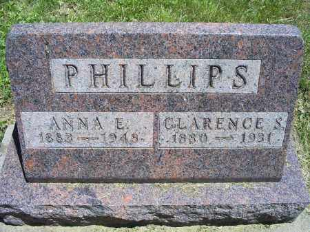 PHILLIPS, ANNA E. - Ross County, Ohio | ANNA E. PHILLIPS - Ohio Gravestone Photos