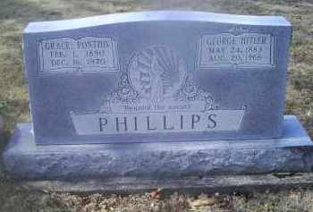 PHILLIPS, GEORGE HITLER - Ross County, Ohio | GEORGE HITLER PHILLIPS - Ohio Gravestone Photos