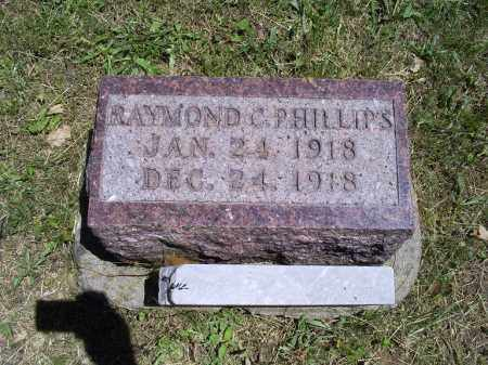 PHILLIPS, RAYMOND C. - Ross County, Ohio | RAYMOND C. PHILLIPS - Ohio Gravestone Photos