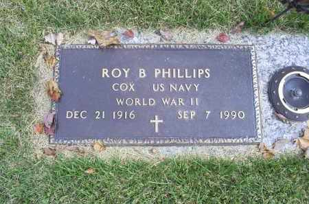 PHILLIPS, ROY B. - Ross County, Ohio | ROY B. PHILLIPS - Ohio Gravestone Photos