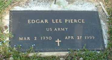 PIERCE, EDGAR LEE - Ross County, Ohio | EDGAR LEE PIERCE - Ohio Gravestone Photos