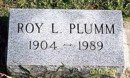 PLUMM, ROY L. - Ross County, Ohio | ROY L. PLUMM - Ohio Gravestone Photos