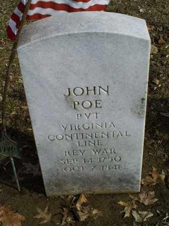 POE, JOHN - Ross County, Ohio | JOHN POE - Ohio Gravestone Photos