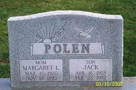 POLEN, MARGARET L. - Ross County, Ohio | MARGARET L. POLEN - Ohio Gravestone Photos