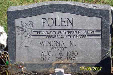 "POLEN, WINONA M. ""WENDY"" - Ross County, Ohio 
