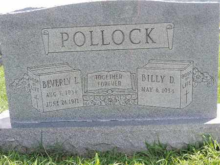 POLLOCK, BILLY D - Ross County, Ohio | BILLY D POLLOCK - Ohio Gravestone Photos