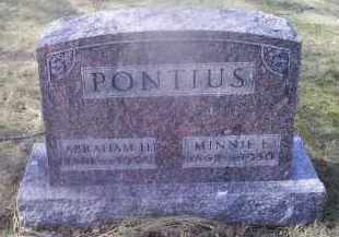 PONTIOUS, MINNIE E. - Ross County, Ohio | MINNIE E. PONTIOUS - Ohio Gravestone Photos
