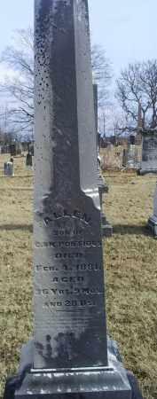 PONTIOUS, ALLEN - Ross County, Ohio | ALLEN PONTIOUS - Ohio Gravestone Photos
